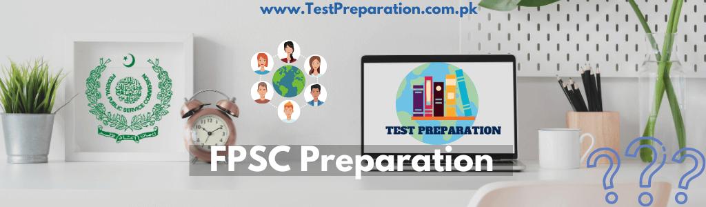 FPSC Past/Sample Papers - FPSC Test Preparation Online - TestPreparation.com.pk